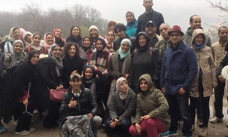 Les étudiants en sociologie effectuent une sortie de terrain à Imlil