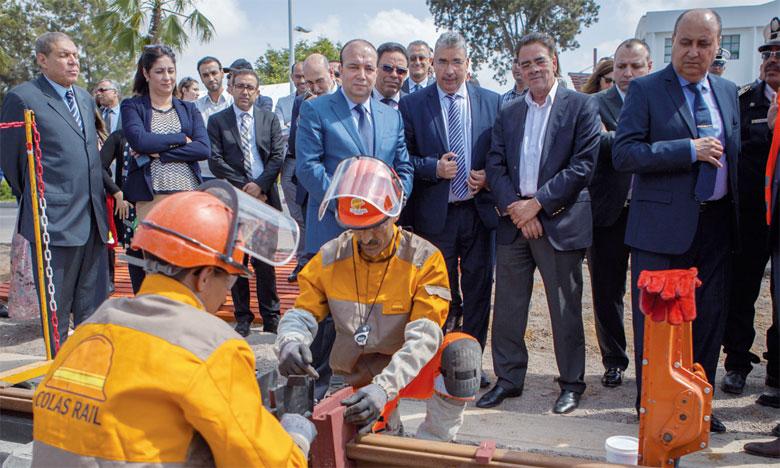 Coup d'envoi des travaux  d'extension de la ligne2