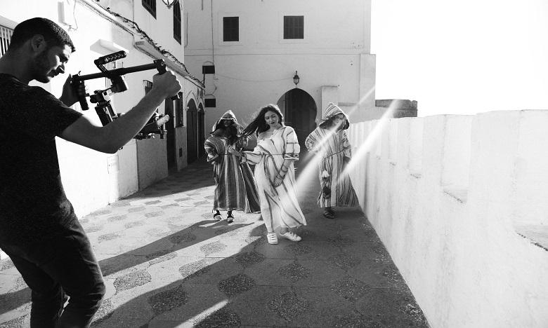 La créatrice de mode  Aseila Albandar à Asilah