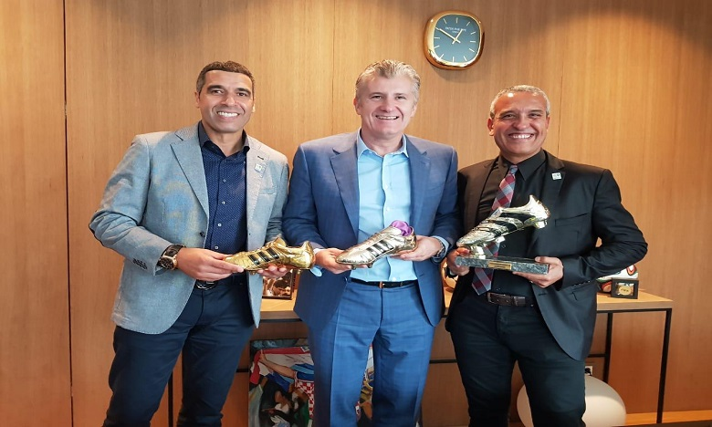 El Moutawakil, Naybet et Bouderbala à Zagreb pour promouvoir la candidature marocaine
