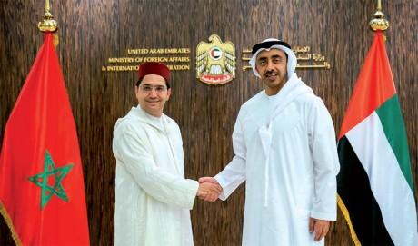 S.A. Cheikh Abdallah ben Zayed al-Nahyane : «Les relations maroco-émiraties distinguées écrivent aujourd'hui les plus belles pages de leur histoire»