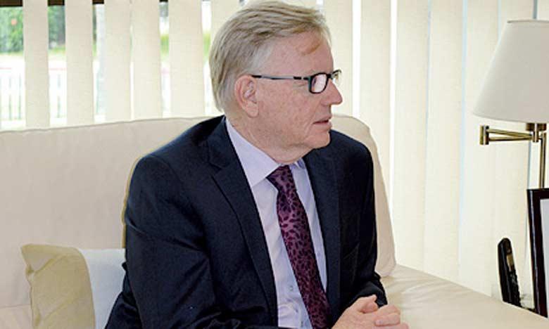 Le directeur exécutif du Fonds vert pour le climat, Howard Bamsey, a indiqué que ce Fonds est aujourd'hui le seul mécanisme financier opérationnel au profit des projets en matière de lutte contre le changement climatique. Ph. MAP