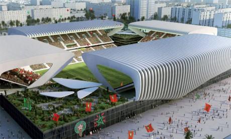 Les stades modulaires, l'un des points forts du dossier marocain