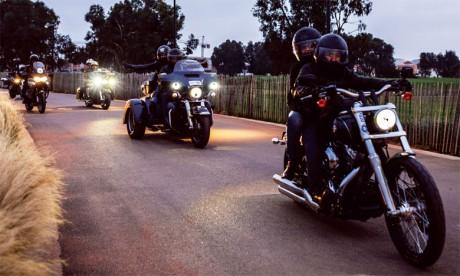 En plus des concours de performances en «stunt» et «run» ainsi que des stages de pilotage, une visite en motode l'arrière-pays a été au programme.