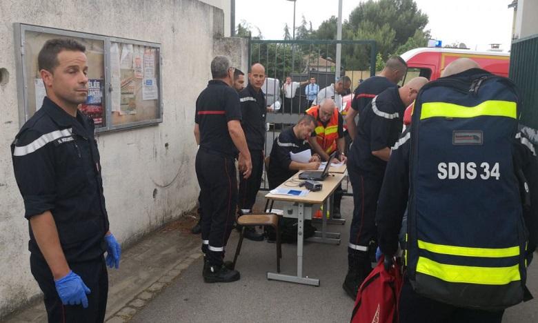 France: 14 enfants blessés dans l'effondrement du plafond de leur classe