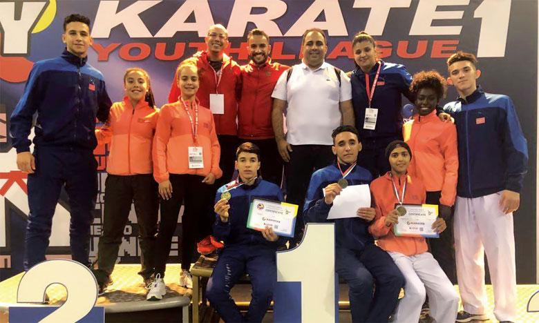 La sélection nationale rafle trois médailles, dont une en or