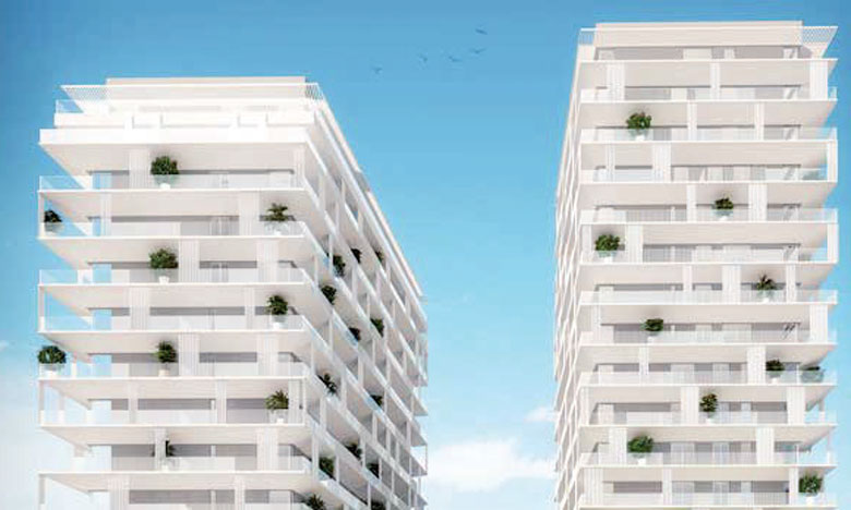 Le BO 52 est le nom du premier projet résidentiel de Linkcity au Maroc.