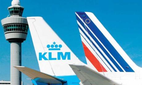 Baisse de 2,6% du trafic d'Air France-KLM en avril
