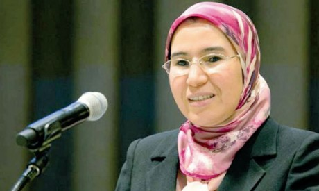 Nezha El Ouafi, secrétaire d'État chargée du Développent durable, présidera la conférence le 5 juin à Rabat. Ph. DR