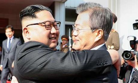 Rencontre surprise entre le Président sud-coréen et Kim Jong Un