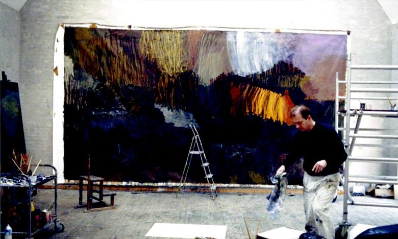 Décès de Per Kirkeby, «le roi de la peinture danoise»