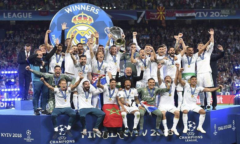 Real Madrid remporte sa 3e Ligue des champions consécutive et sa 13e au total