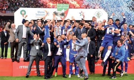 Le trophée de champion et un chèque de 3 millions de dirhams pour l'IRT