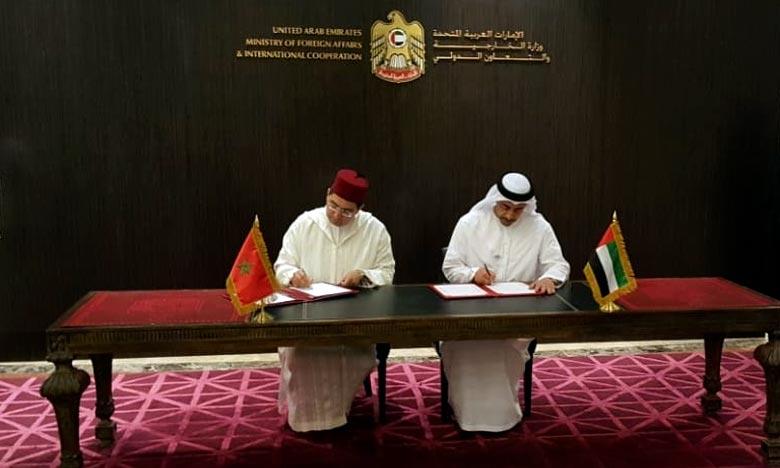 Des accords de coopération signés à Abu Dhabi