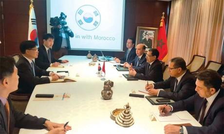 Le Maroc et la Corée du Sud veulent donner un nouvel élan  à la coopération bilatérale