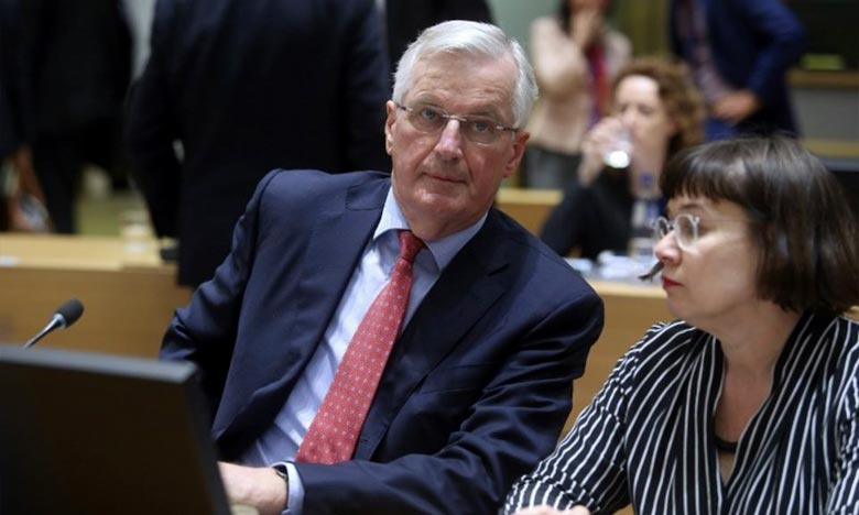 A Bruxelles, Michel Barnier, le négociateur en chef de l'UE a rappelé au gouvernement britannique que «l'heure tourne». Ph : AFP