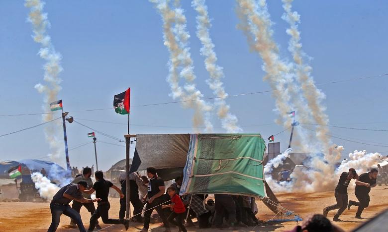 37 Palestiniens tués à Gaza par des tirs israéliens