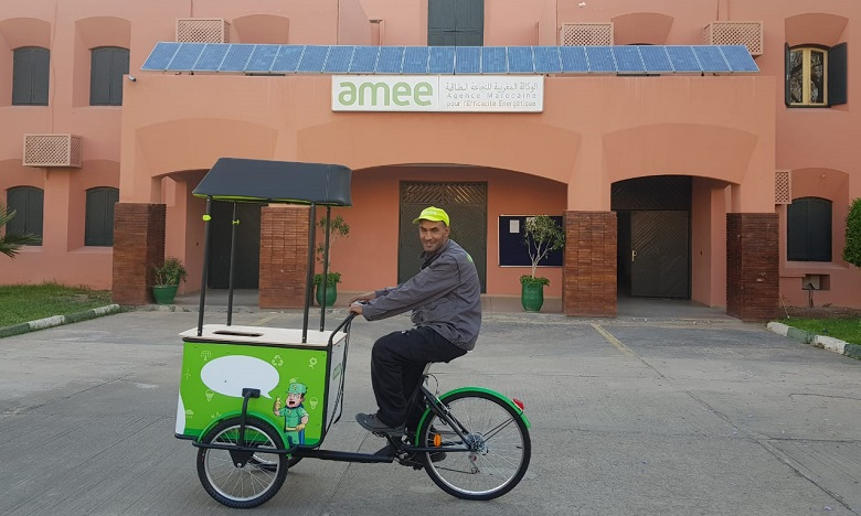 Les tricycles Pickalty arrivent à Marrakech