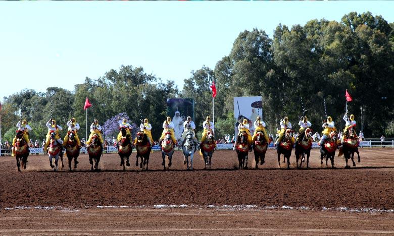 Le Trophée Hassan II de Tbourida est un rendez vous incontournable des sports équestres au Maroc et à l'étranger. Ph : MAP