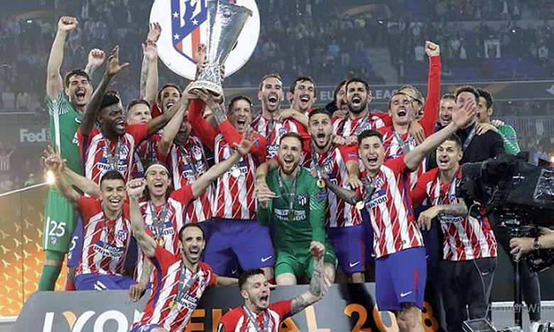 L'Atlético Madrid domine Marseille et remporte le troisième trophée de son histoire