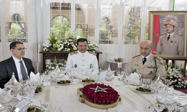 S.A.R. le Prince Moulay Rachid préside un déjeuner offert par S.M. le Roi