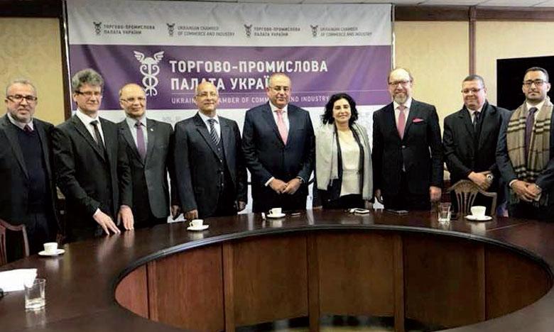 Signature d'un accord entre les Chambres de commerce  de Souss-Massa et d'Ukraine