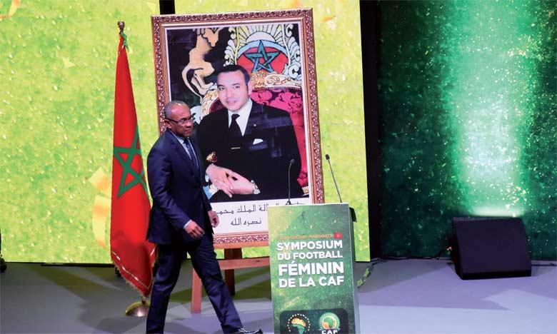 Ahmad Ahmad,  orésident de la CAF.