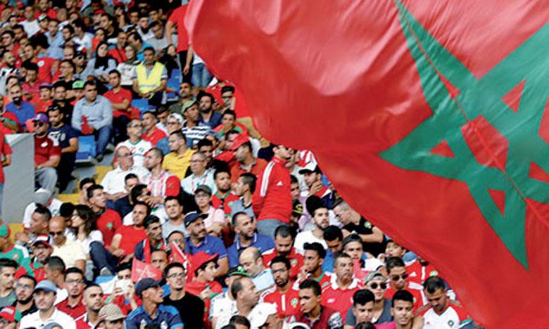 11.535 supporters vont suivre les Lions de l'Atlas en Russie