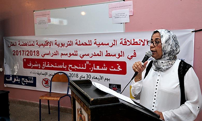 Une campagne de sensibilisation contre la fraude en milieu scolaire à Rabat-salé-Kenitra