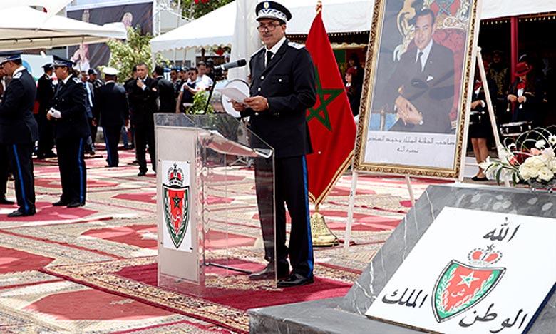 Le bâtiment de l'arrondissement de police d'Arsat Azzaytoune, comprend un espace d'accueil, des bureaux et d'autres dépendances. Ph : MAP