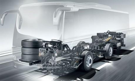 Fabriqué en Espagne à Samano, le nouveau châssis, dont le nombre d'unités fabriquées dépasse 20.000, répond aux standards européens.