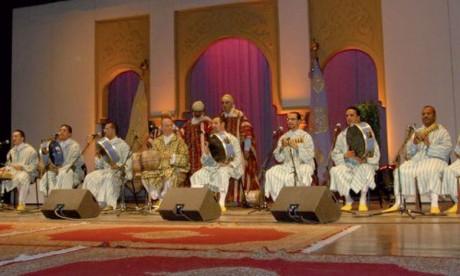 Une veillée ramadanesque avec la Taïfa de Fès, dirigée par l'Mqaddem Haj Said Berrada