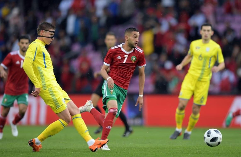 Le Maroc et l'Ukraine font match nul 0 à 0
