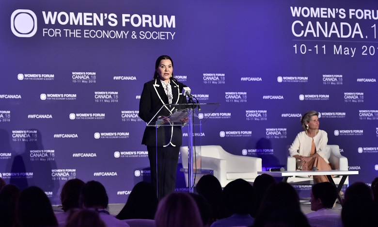 S.A.R. la Princesse Lalla Hasnaa prend part à Toronto au «Women's Forum Canada 2018»