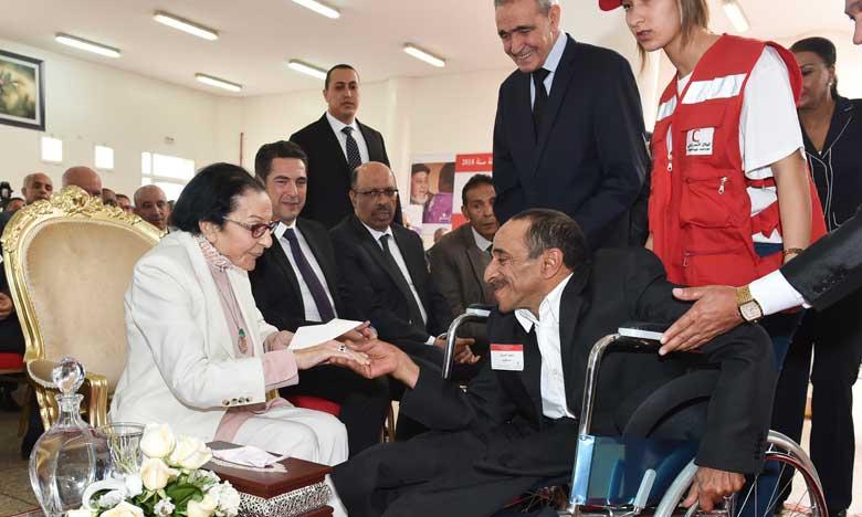 S.A.R. la Princesse Lalla Malika préside à Aïn Atiq la cérémonie de lancement de la Semaine nationale du Croissant-Rouge marocain