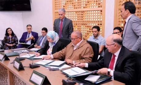L'intérêt porté à l'aspect environnemental de la région de Marrakech-Safi a été exprimé par Nezha El Ouafi lors de la signature d'une convention de partenariat pour la régionalisation de la Stratégie nationale de développement durable.  Ph. DR