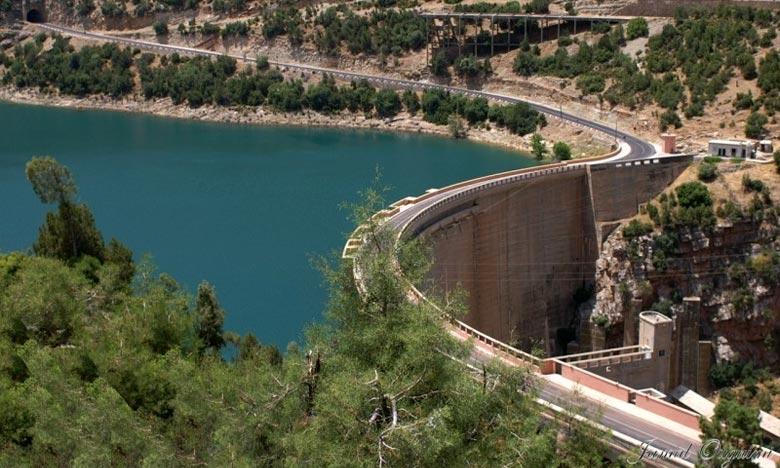 Les barrages remplis à environ 70%