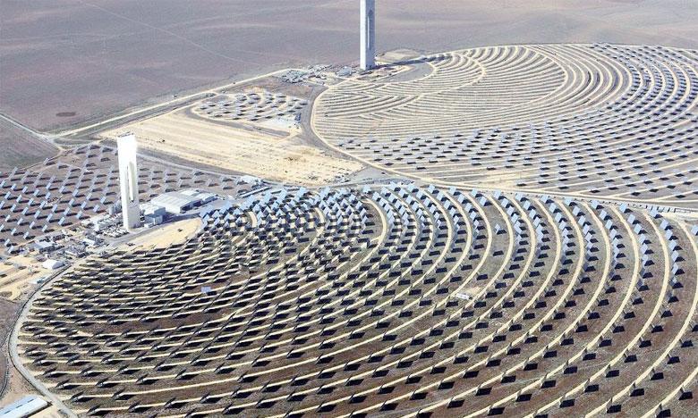 Dans son compte rendu du Sommet de Vienne, l'ONU a cité «le Maroc (qui) construit une ferme solaire de la taille de la ville de Paris qui alimentera plus d'un million de foyers d'ici 2020».
