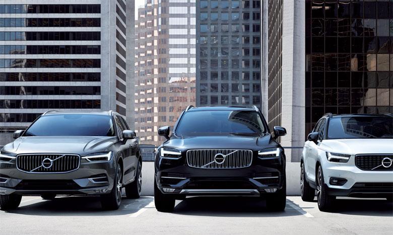 Les ventes de Volvo Cars progressent de 12,2% en avril
