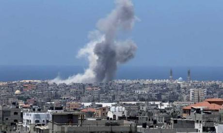 L'armée israélienne a mené un raid contre des cibles du Hamas