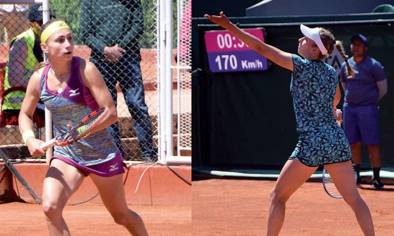 Elise Mertens rejoint  Ajla Tomljanovic en finale