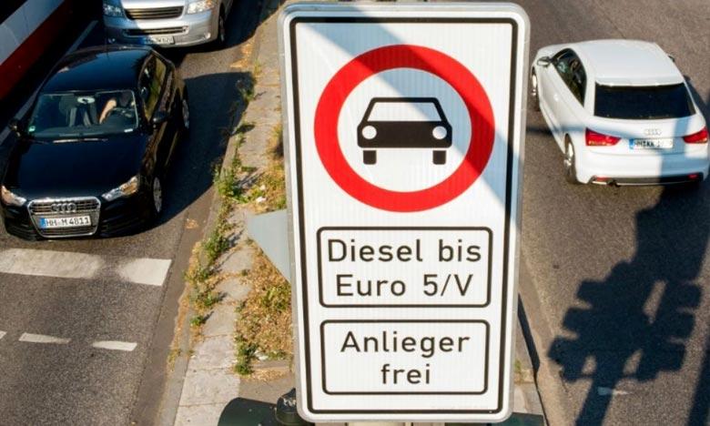 Hambourg, première ville à restreindre la circulation des voitures diesel