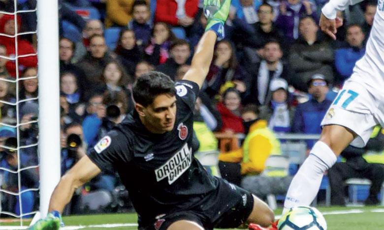 Le rideau de fer de Girona a disputé une saison pleine, titulaire en 30 sur les 38 matchs de Girona.