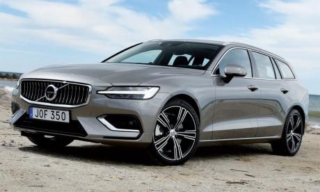 Le Volvo V60, version break de la S60, a été lancé en début d'année.