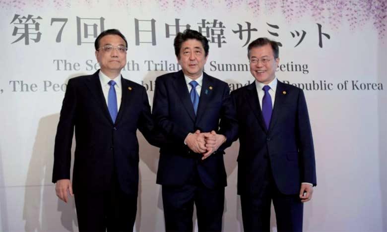 Réunion tripartite Japon-Chine-Corée du Sud