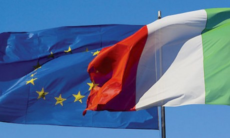 Le niveau du PIB italien reste encore inférieur de 0,9% par rapport  au deuxième trimestre2011.