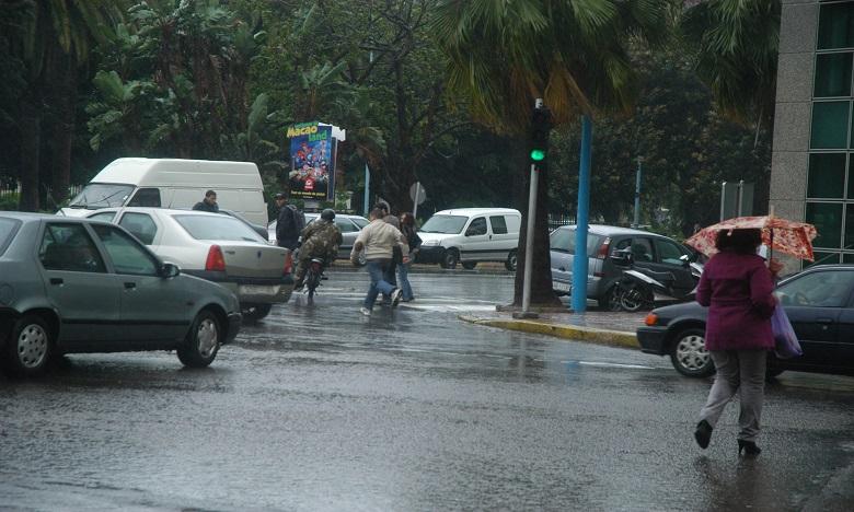 Des averses orageuses localement fortes prévues dimanche et lundi