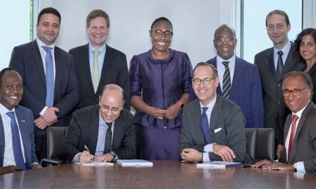 La coopération des deux groupes a pour objectif d'améliorer le taux de pénétration de l'assurance en Afrique, notamment.