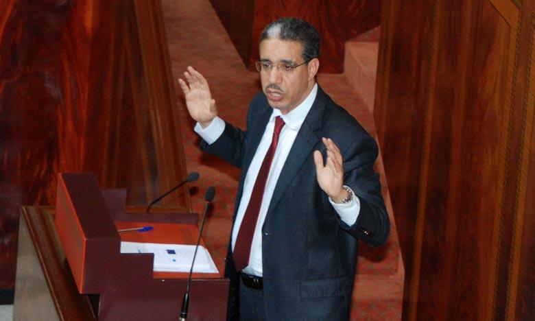 Aziz Rabbah, ministre de l'Energie, des Mines et du Développement durable. Ph : DR