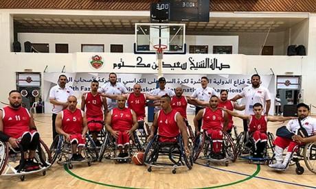 L'équipe marocaine termine 2e à Dubaï